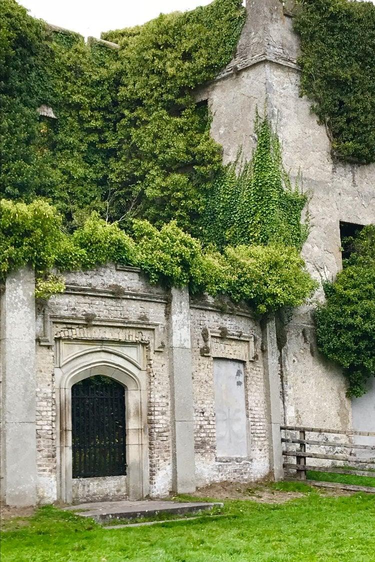 Donadea Castle Ruins in Ireland - Photo by Kathleen Morris
