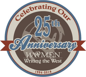 Women Writing the West 25th Anniversary Badge