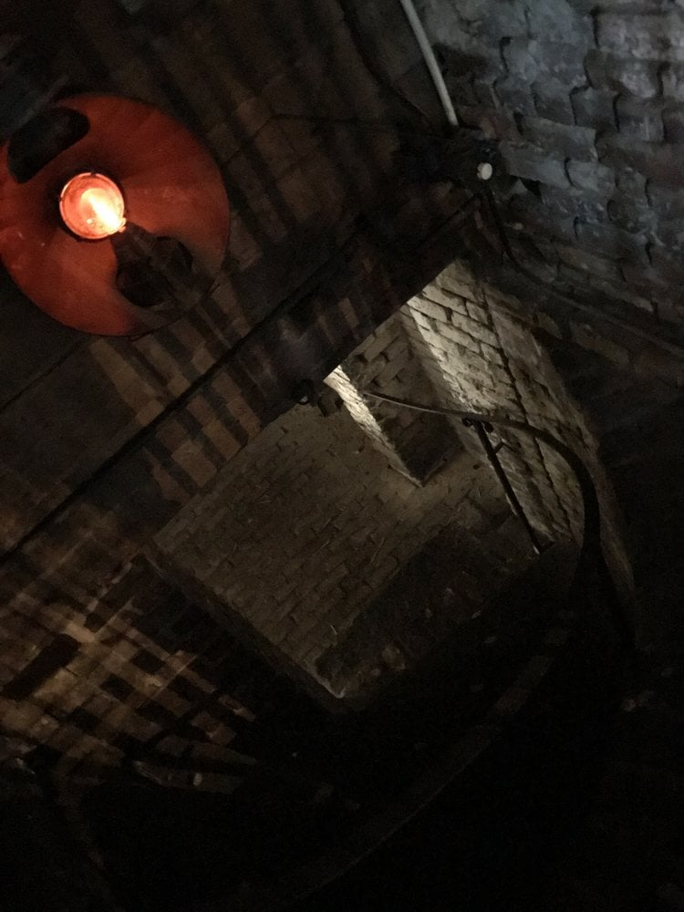 Tunnels under the Pirates' House