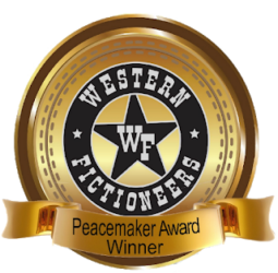 Western Fictioneers Peacemaker Award Winner Badge